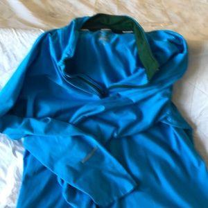Nike running pull over jacket
